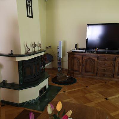 Eleganckie wnętrze z nutką zieleni w Mławie - przed 3