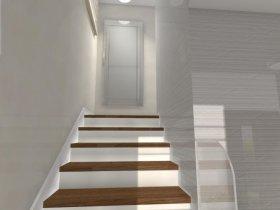 Hall z klatką schodową