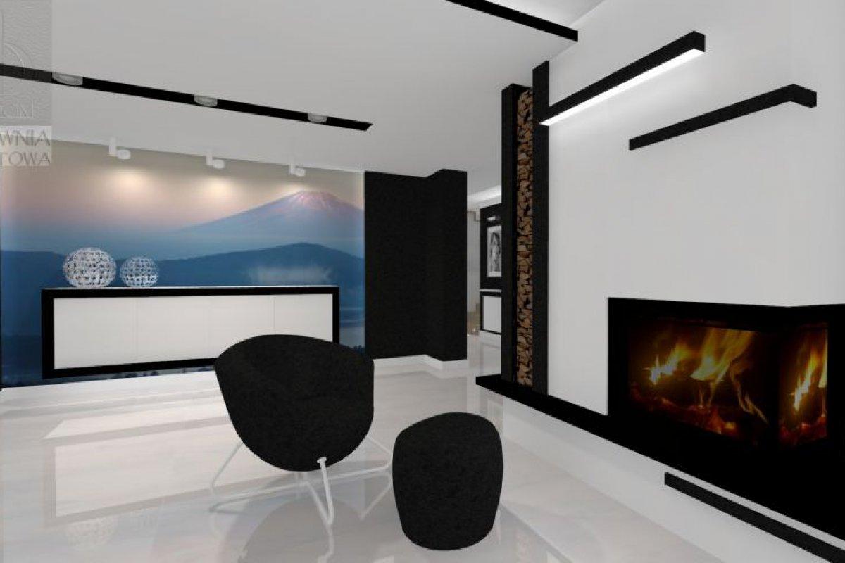 ArtDom02-2aMinimalistyczny salon w czerni i bieli9