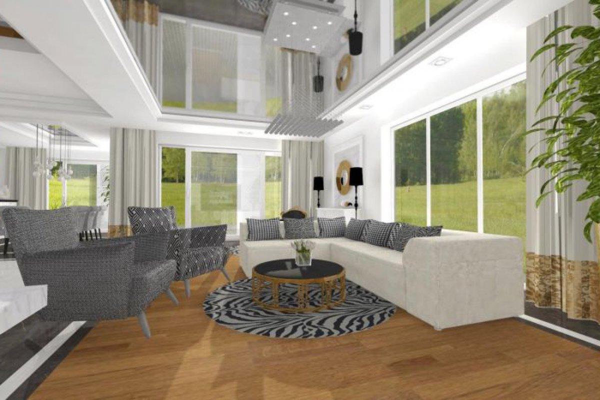 Rezydencja w stylu glamour